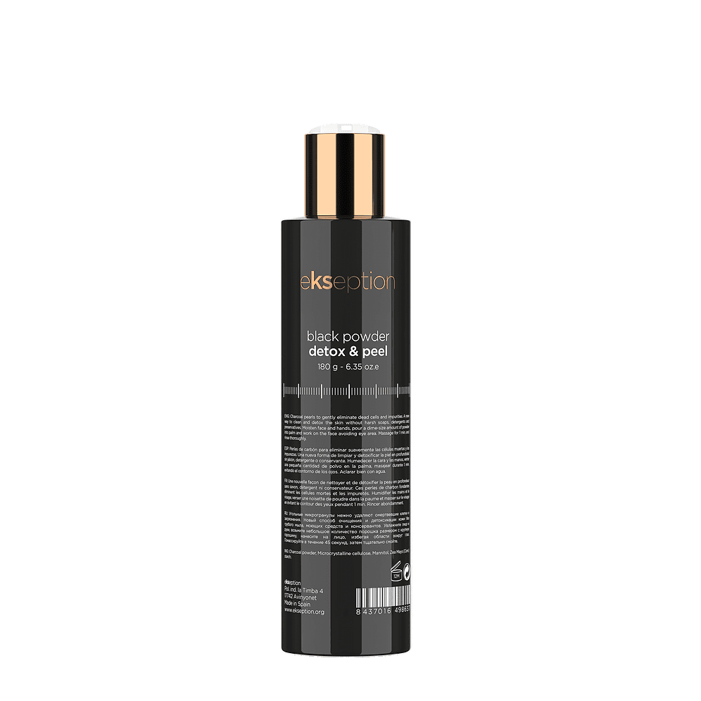 Ekseption Black Powder Detox Peel from Serenity Therapies