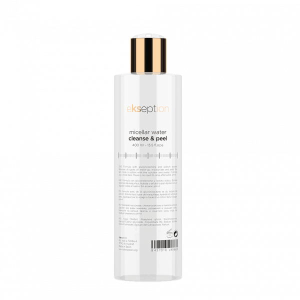 Ekseption Micellar Water Cleanse & Peel from Serenity Therapies