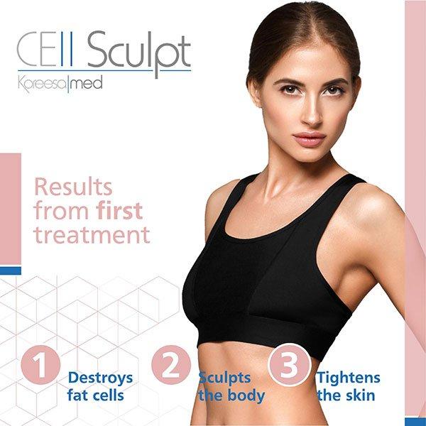 Cell Sculpt - new body treatment in Tunbridge Wells