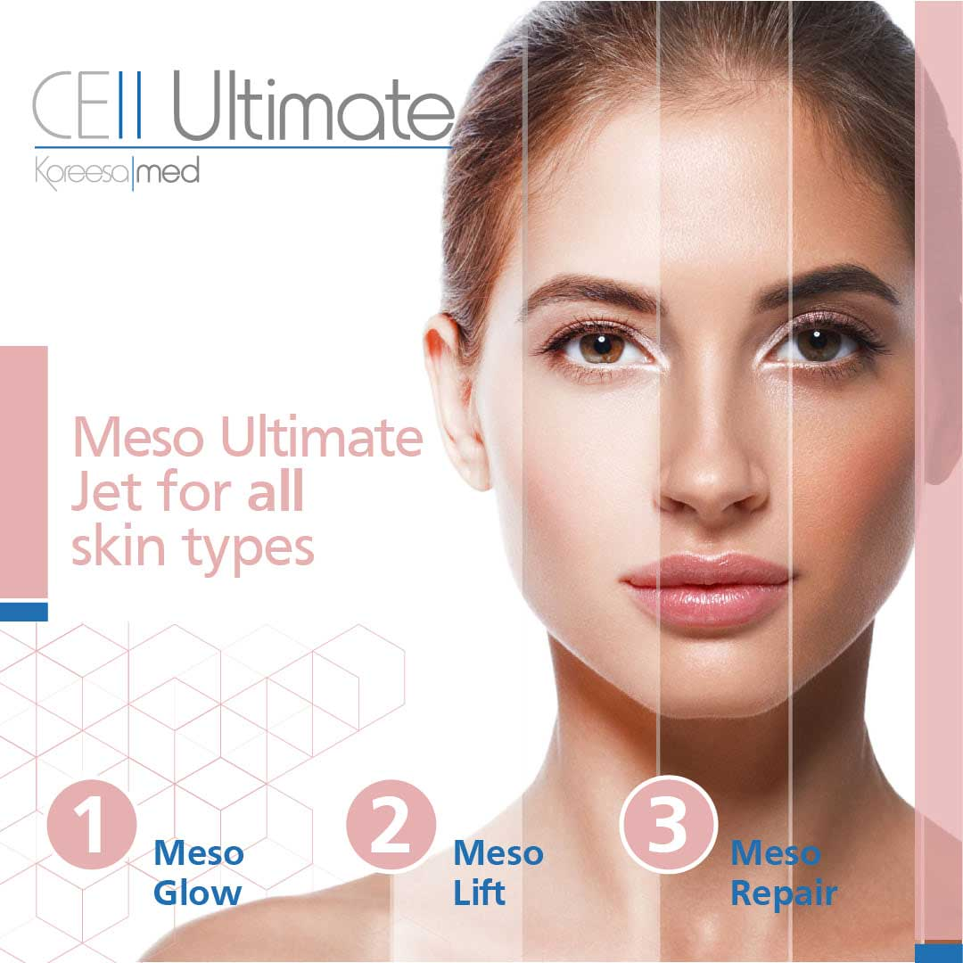Cell Ultimate Meso Ultimate Jet for all skin types at Serenity Therapies